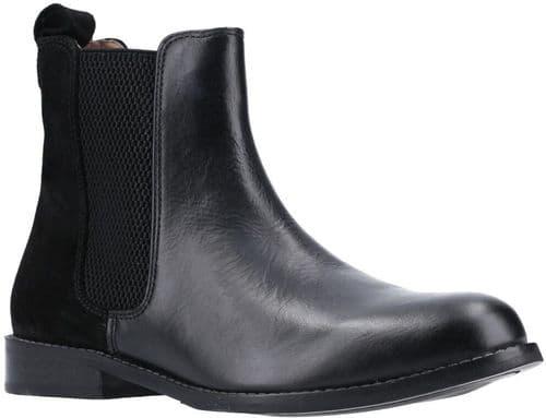 Hush Puppies Chloe Ladies Ankle Boots Black
